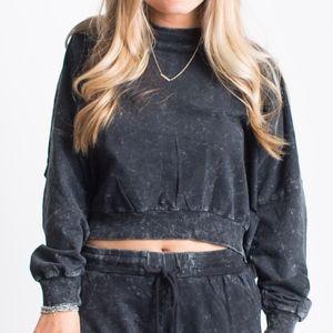 Distressed Sweatshirt